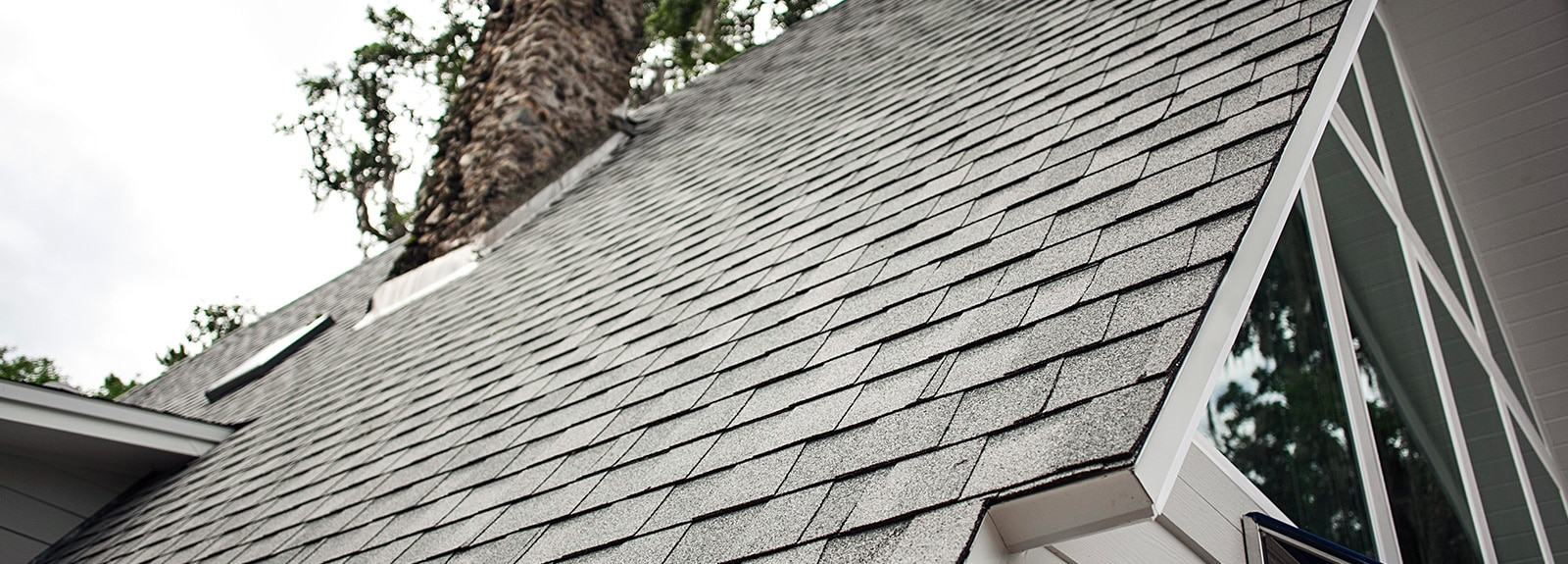 Photo of an asphalt roofing option built by McFall Residential Roofing of Gainesville.