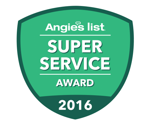 McFall Roofing Angie's List Award for 2016